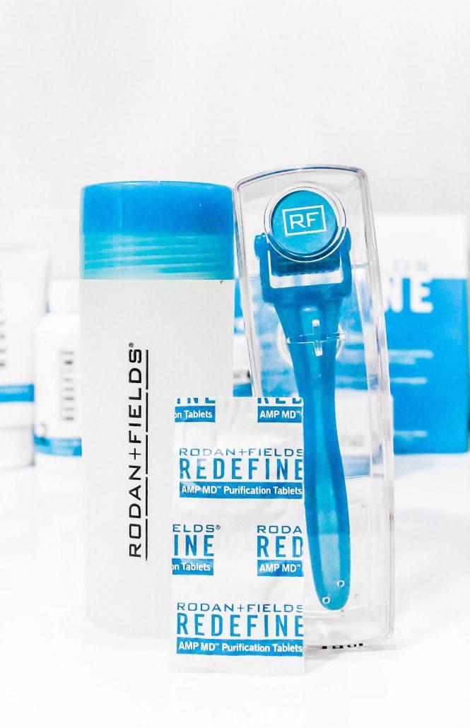 rodan + fields redefine face wash routine