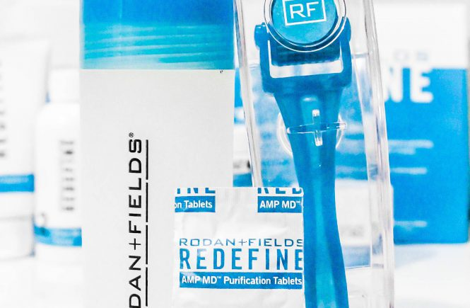rodan + fields redefine face wash routine