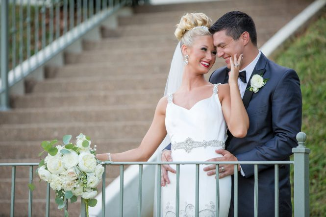Wedding Wednesday - Samuel Franklin Wedding Florist | www.lovenlabels.com