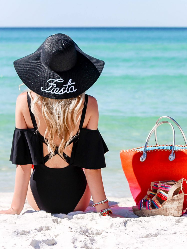 Bright Tassel Swimsuit + Girls Trip Recap | love 'n' labels www.lovenlabels.com