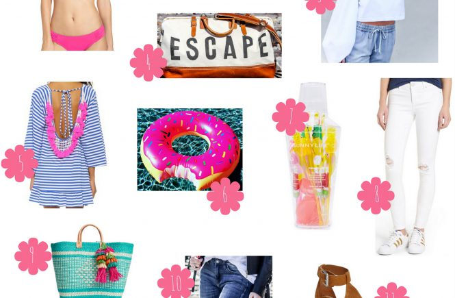 Spring Break Checklist | love 'n' labels www.lovenlabels.com