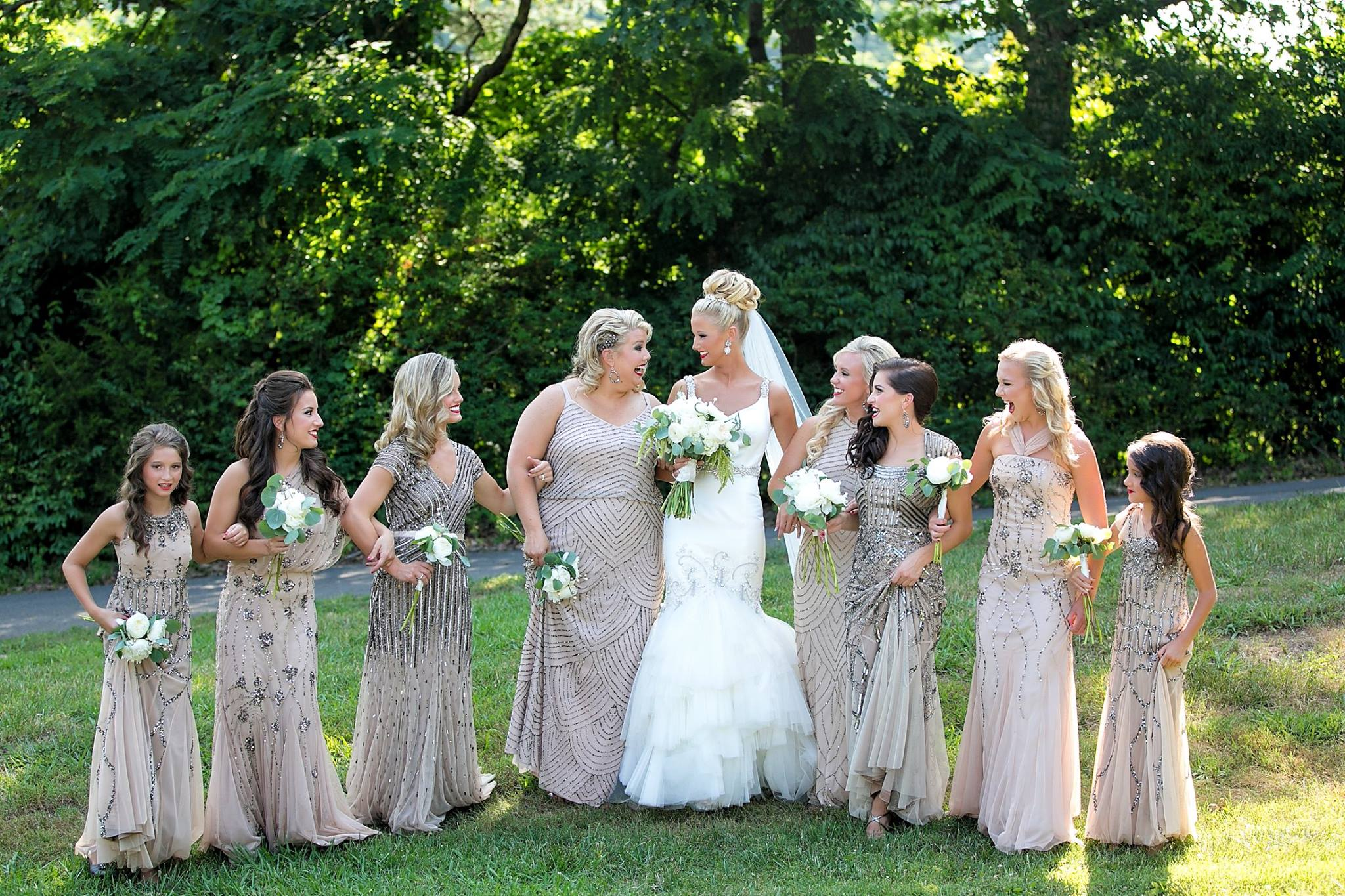 Wedding Wednesday Introducing My Bridesmaids Their Wedding Day