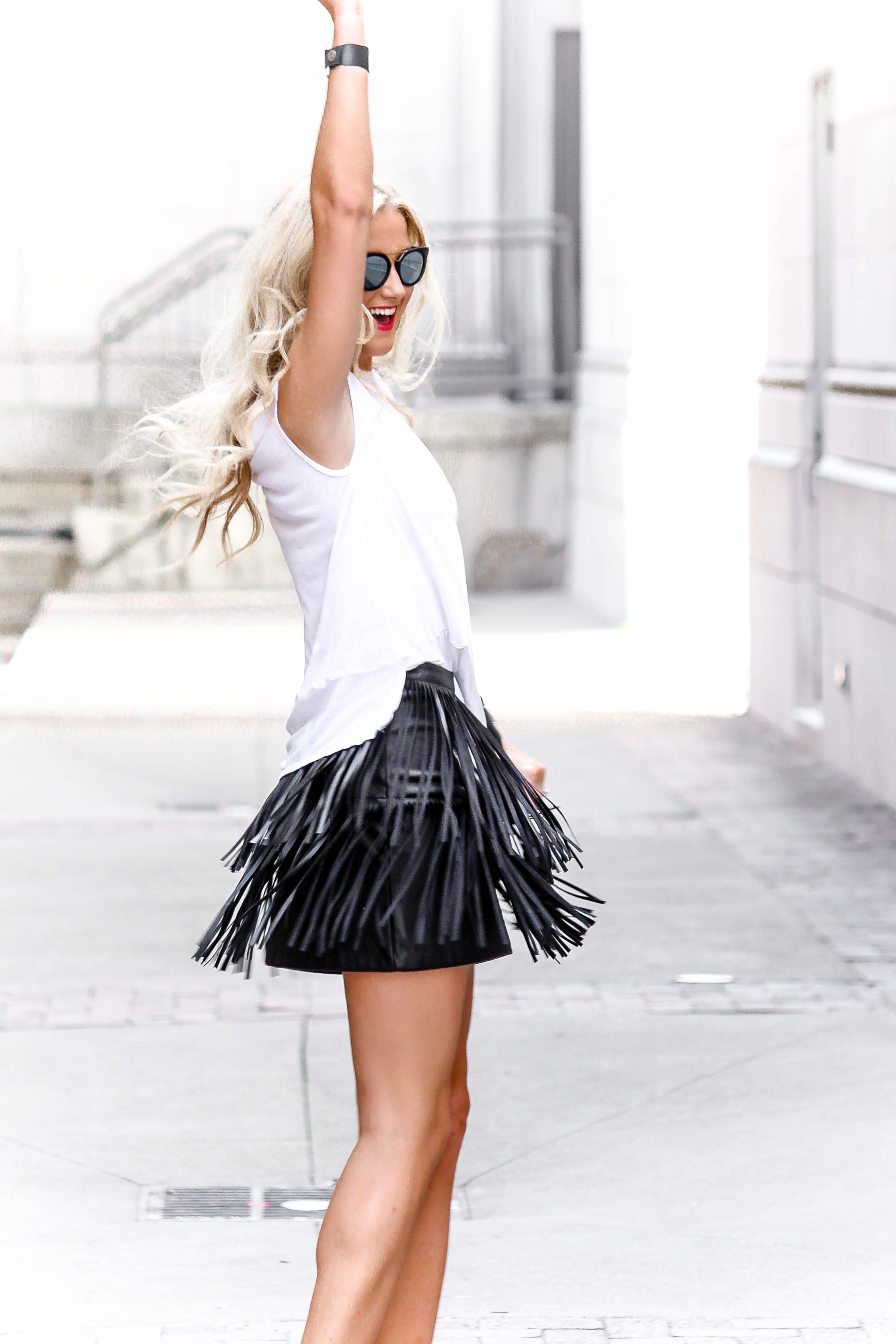 Fun & Flirty Fringe Skirt | love 'n' labels www.lovenlabels.com