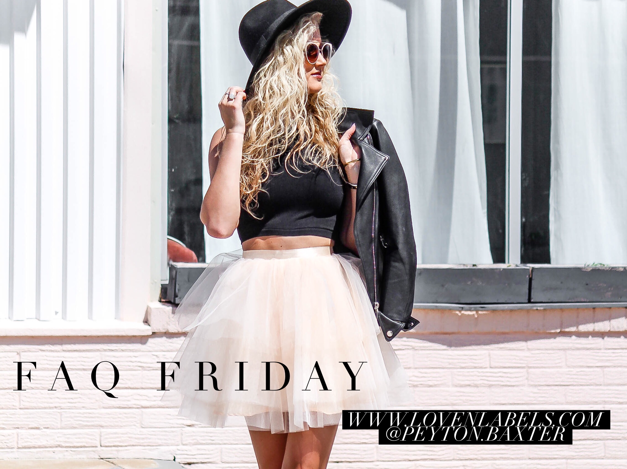 FAQ Friday | love 'n' labels www.lovenlabels.com
