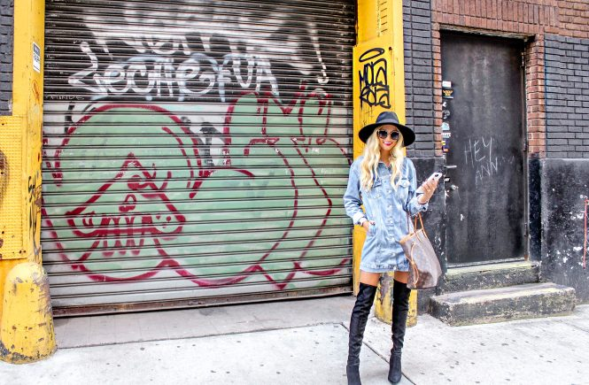 How to Style the Oversized Denim Jacket | love 'n' labels www.lovenlabels.com