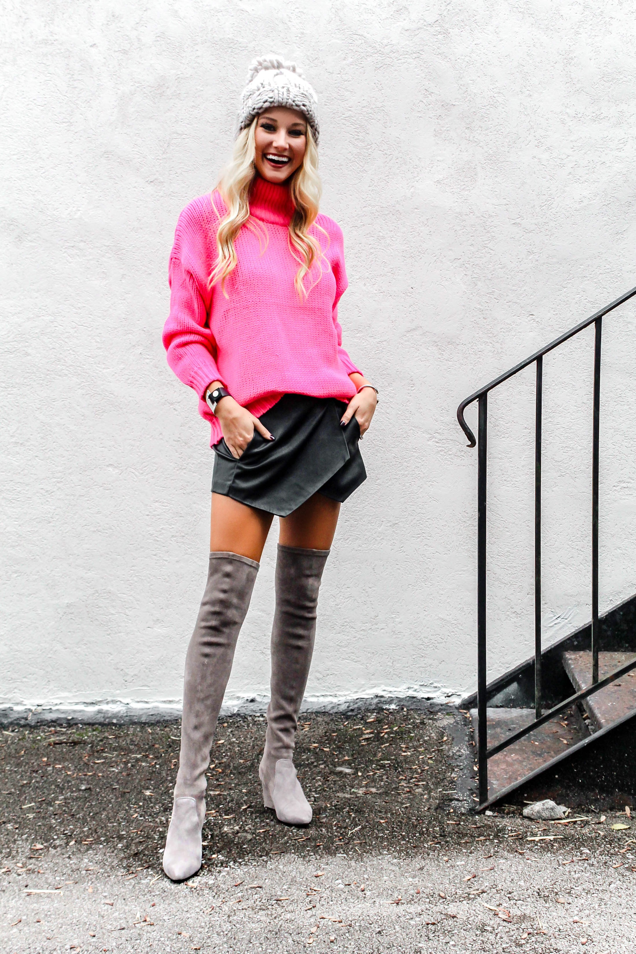 How to Style Over the Knee Boots | love 'n' labels www.lovenlabels.com