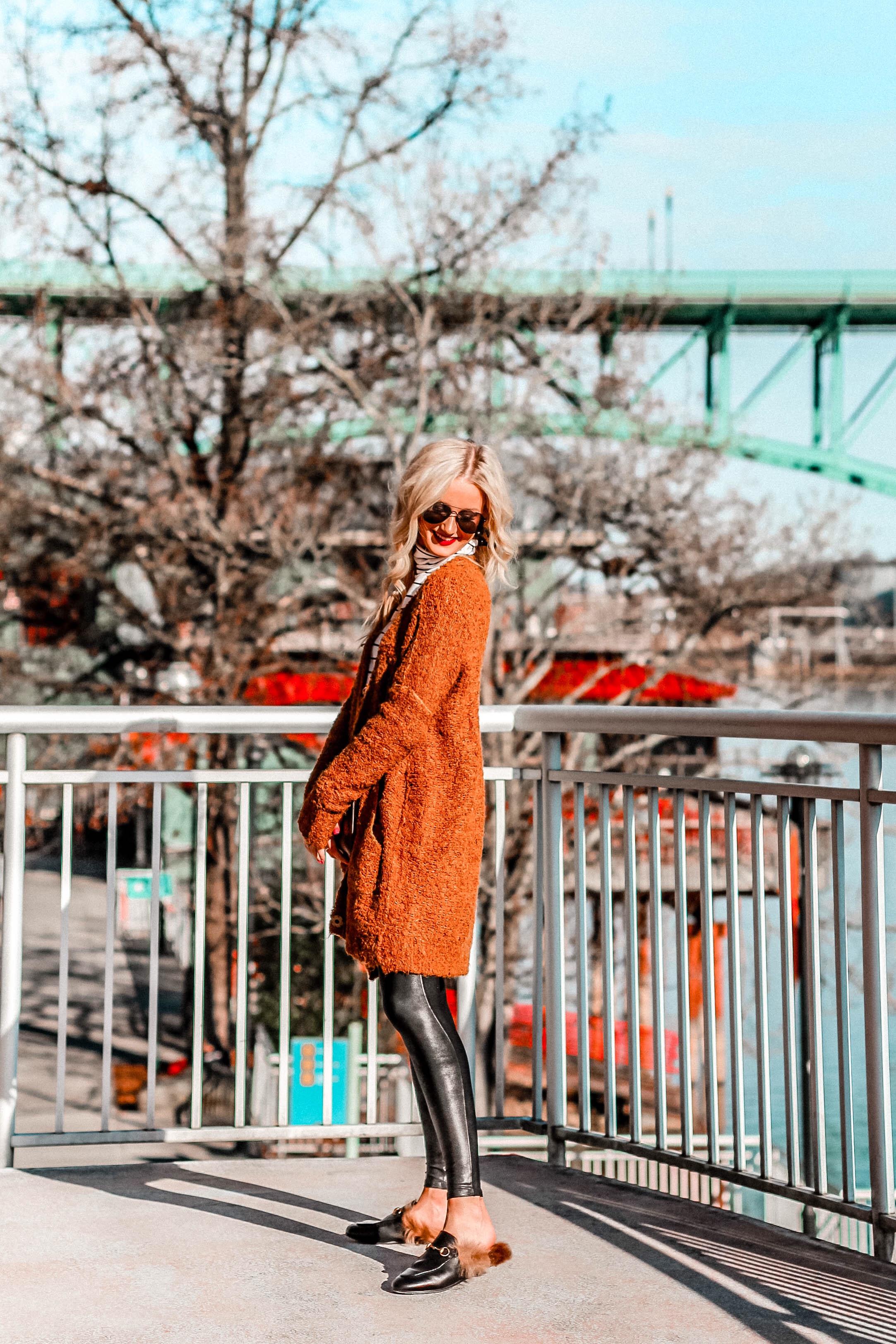 5 Ways to Wear Faux Leather Leggings | love 'n' labels www.lovenlabels.com