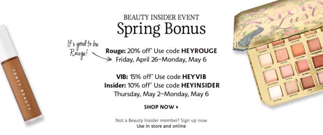 Sephora Beauty Insider Sale | love 'n' labels www.lovenlabels.com