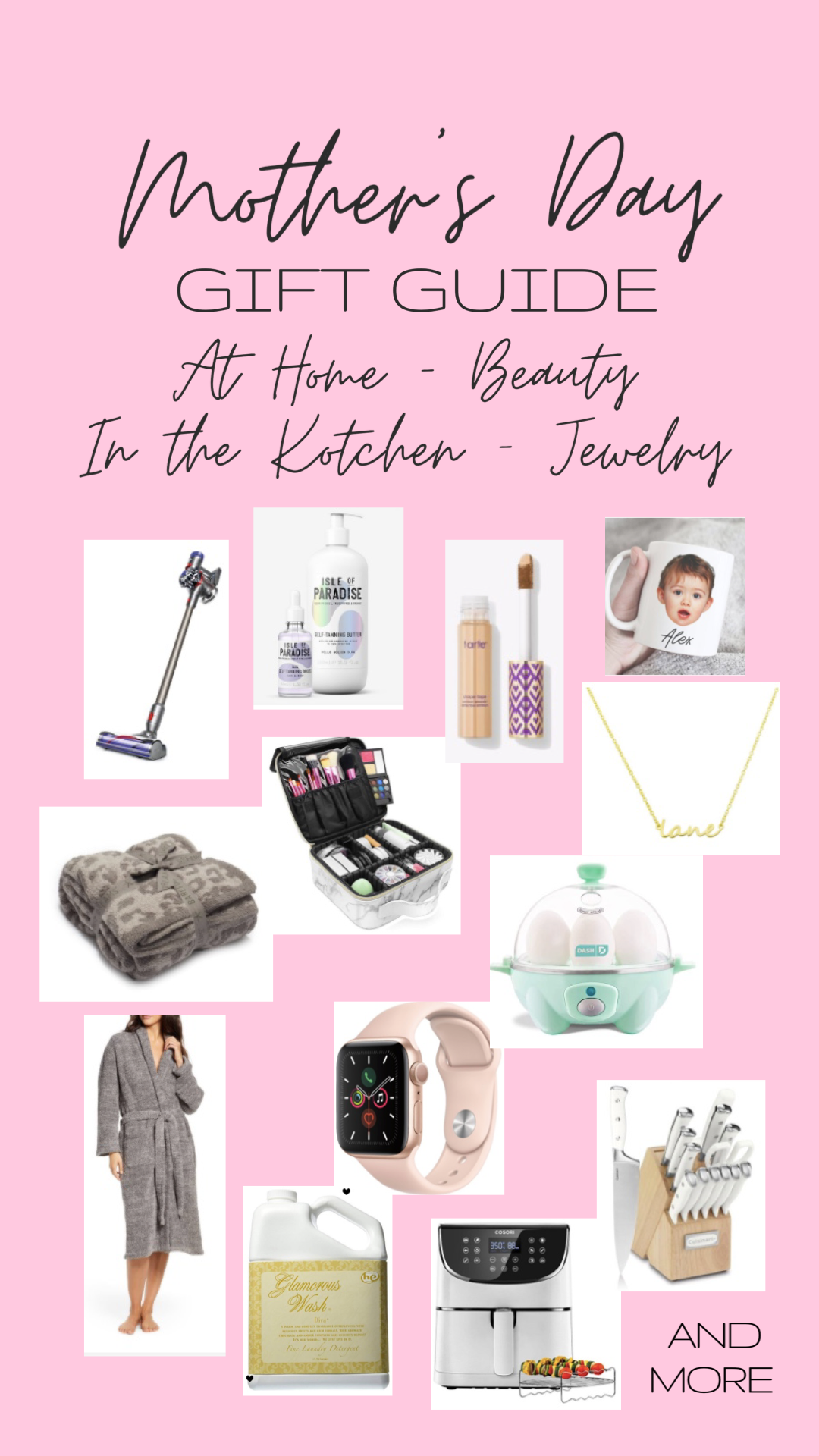 Mother's Day Gift Guide | love 'n' labels www.lovenlabels.com