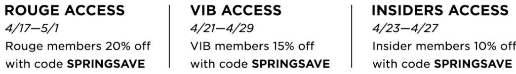 Sephora Spring Sale | love 'n' labels www.lovenlabels.com