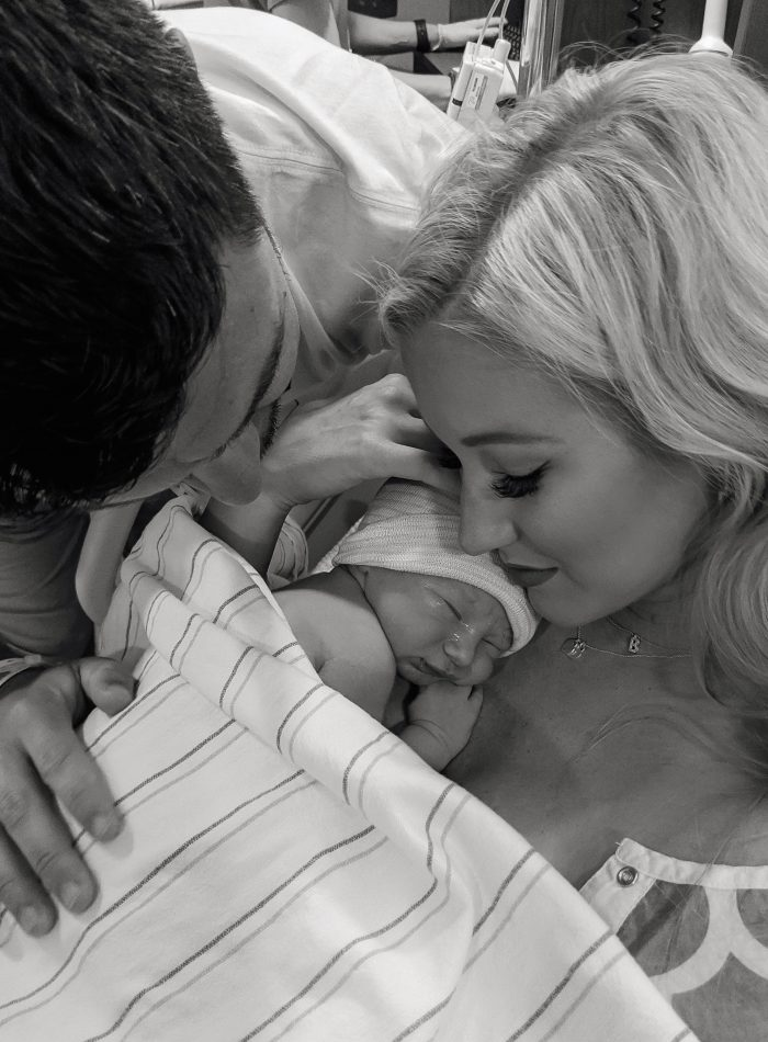Britton's Birth Story | love 'n' labels www.lovenlabels.com